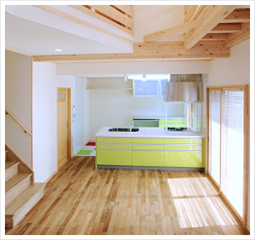 「自然素材=健康住宅」ではありません